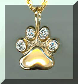 Cat jewelry dog jewelry horse jewelry precious pets gold 18k gold 14k gold dog charms 14k dog pendants slides necklaces 14k dog rings 14k dog pins 14k gold dog bracelets dog tie tacks dog paw aloadofball Gallery